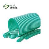 Colorido de plástico de PVC flexível do tubo de borracha de aspiração