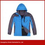 Capa roja de las chaquetas del invierno del esquí de las mujeres del superventas para los deportes (J84)