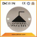 DS019 de haute qualité de la plaque en acier inoxydable rondes signe