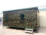 Casa do recipiente do preço de fábrica/acampamento Prefab recipiente camuflar para a venda