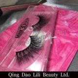 Норка Faux прокладки 3D Silk хлещет плетки красотки состава ложных ресниц синтетического волокна естественные длинние
