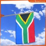 南アフリカ共和国のカスタム示す小型手持ち型のフラグ