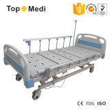 Ausrüstungs-Cer ISO-FDA Cerficate 3 Funktion, die elektrisches Hauptsorgfalt-Krankenhaus-Bett faltet