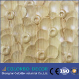 El panel de pared decorativo grabado 3D del efecto