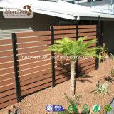 庭アルミニウムポストが付いている装飾的なWPCの完全トレリスの塀