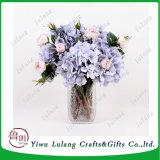 Mesa de boda piezas centrales de la flor de seda artificial ornamento Hortensia Flores