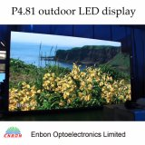 Visualizzazione esterna di P4.81mm LED per gli eventi, la fase ed il concerto
