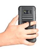 Cas de téléphone cellulaire de vente en gros du marché de la Chine pour la couverture raboteuse lourde hybride d'armure de cas de Samsung S8 pour le cas de combo d'étui de Samsung S8