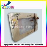 El cuadrado grande Caja de regalo con tapa transparente
