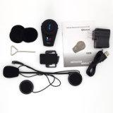 Simple noir Intercom Bluetooth pour moto/vélo/skieur Handfree