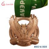 ギフト用の箱が付いているカスタム金属の想い出の品メダル
