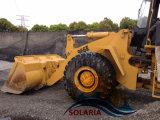 machinerie de construction de seconde main Cat du chargeur avant hydraulique 966e chargeuse à roues