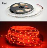 Singola striscia Llight di colore SMD 2835 LED con il Ce di 60LEDs/M TUV
