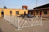 도보 방벽/사용된 군중 통제 강철 바리케이드