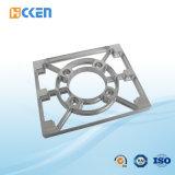 OEMの高精度CNCの機械装置のアルミニウム黒い上塗を施してある管のカップリング