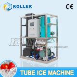Equipo de hacer hielo TV20 del tubo comestible aprobado del CE de 2 toneladas/día