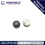 Клетка кнопки свободно Китая фабрики Mercury&Cadmium алкалическая для вахты (1.5V AG7/LR927)