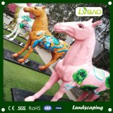 Kindergarten와 School를 위한 튼튼한 Quality Kids Colored Carpet Long Stem Artificial Grass