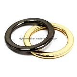 A curvatura redonda do anel da liga quente do zinco do metal da venda para o saco parte os acessórios dos bens do couro de sapatas da curvatura de correia (Yk881, 882, 885, 908, 909)