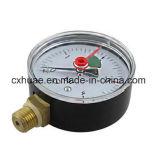 Double mètre de pression de pointeau de flèche indicatrice