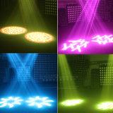 300W 2개의 Gobo 바퀴를 가진 백색 색깔 높은 광도 LED 반점 이동하는 맨 위 빛