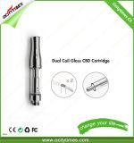 Ocitytimes 이중 코일 E 담배 C5 Cbd 기름 Vape 카트리지