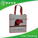 Custom Design PP без тканого Утилизация печатной рекламы Laminationed женская сумка Магазинов