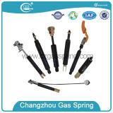 Resorte de gas bloqueable para la aplicación del tratamiento médico