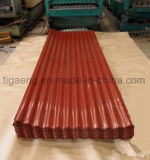 precio de fábrica de cartón ondulado PPGI de buena calidad Hoja de techos de metal