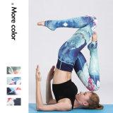 Hijgt de vrouwen Afgedrukte Yoga Gymnastiek en de Geschiktheid Legging past Patroon aan
