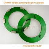 240 мм Klindex алмазные шлифовальные кольца для конкретных