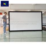 Xyscreenの固定わくの映写幕の劇場プロジェクターおよびスクリーン