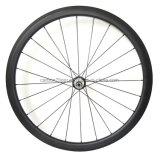 Serenata de las ruedas de carbono 38mm de ancho 21 mm 700c bicicleta carretera carbono radios Sapim los pezones y el cubo de ruedas de carbono R36
