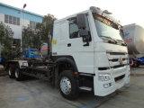 販売のためのHOWO/Dongfeng 6X4 10tons 20tonsキャリッジ取り外し可能な/Dismountableごみ収集車