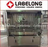 Máquina de rellenar del pistón químico detergente automático
