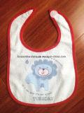 顧客用漫画は綿のテリーによってカスタマイズされた昇進の赤ん坊の胸当てを印刷した