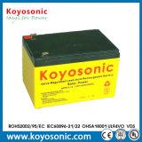 Batterie solaire des prix 12V 12ah de batterie rechargeable d'acide de plomb bon marché de gel