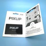 カードの袖が付いている習慣によってスクラッチされるPVC会員プラスチックギフトのカード