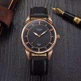 Z398方法最小主義の腕時計の人の余暇の革バンドの腕時計の高品質