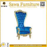 販売のための卸し売り結婚式の王および女王の王位の椅子