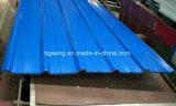 Листы крыши оцинкованной стали Trapezium цвета толя профиля PPGI коробки