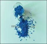 Gránulos plásticos azules del tratamiento por lotes principal del color para el producto del tubo o del plástico