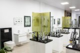 Module lustré blanc de vanité de salle de bains de forces de défense principale avec le bassin (P6011-900W)