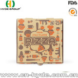 Quitando el rectángulo del diseño/de la pizza del rectángulo de la pizza de 7 pulgadas acanalado