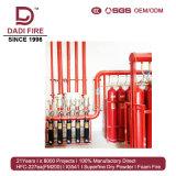 Incêndio do sistema de supressão do incêndio do gás da mistura Ig541 - sistema extinguindo