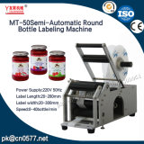 Frascos redondos Semi-Automaitc Rotulando Máquina para Yougurt (MT-50)