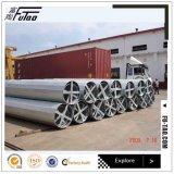 138kv galvanizó la potencia poste de acero usado para la electricidad