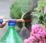 Pulverizador de bronze do jardim da água da bomba de mão do bocal dobro de Ilot