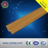Painel da parede da placa de Rodapé de PVC cor de madeira