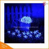 Licht van het Koord van de zonne het Aangedreven LEIDENE van de Bloesem Pearch Decoratie van de Tuin voor de Verlichting van de Schoonheid van het Huwelijk van het Park van het Gazon